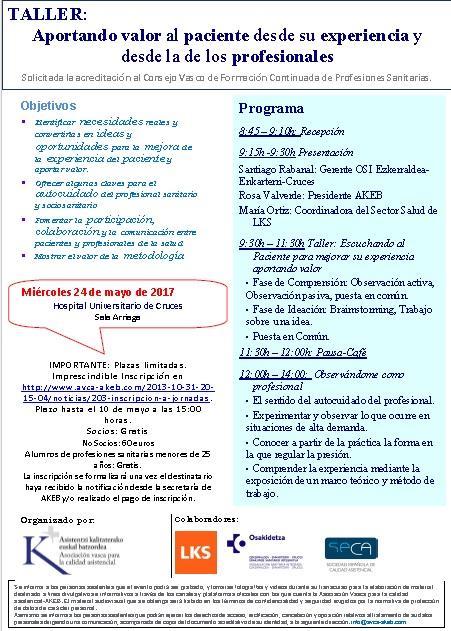Programa taller CAST 20170524